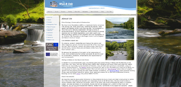 The Wye & Usk Foundation Website